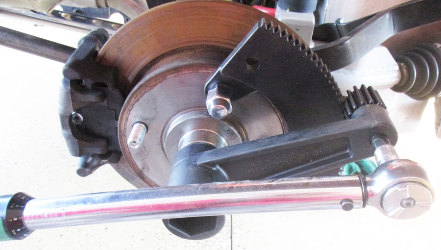 torque tool  removing axle nuts flywheel gland nuts empi doghouse repair