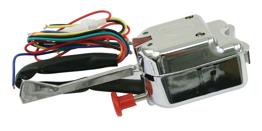 switch - turn signal universal chrome buggy type Empi