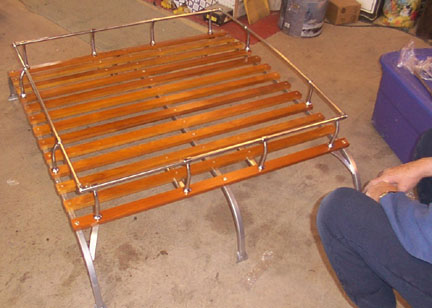 Roof Rack For Buses 50 79 Amp Campers W Pop Up Straight Top