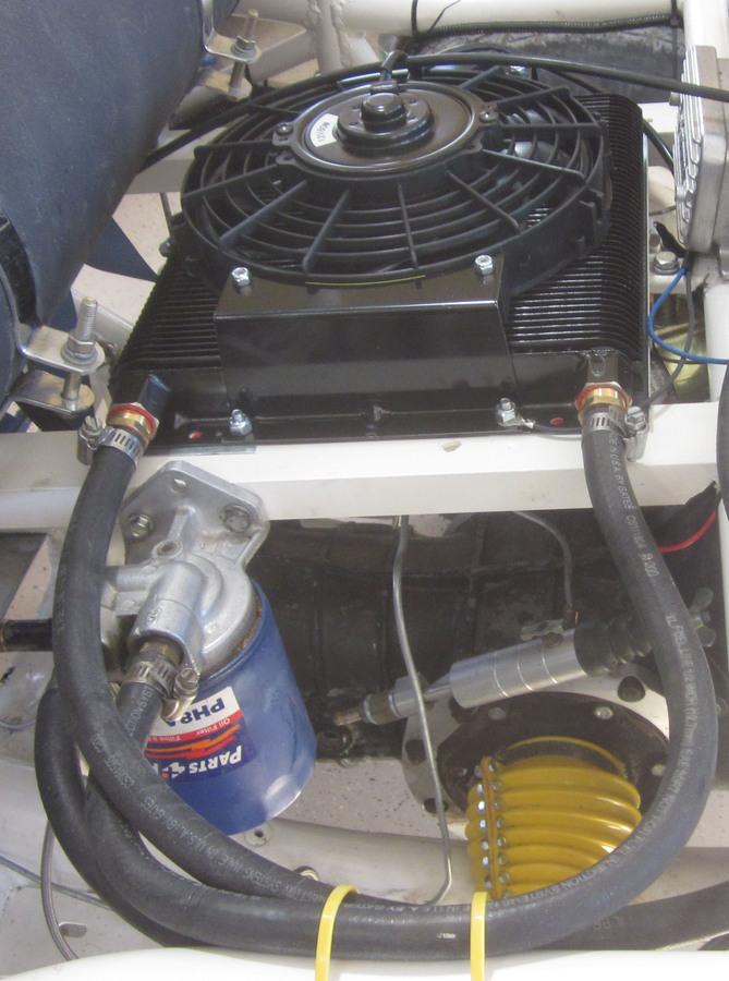Vw Oil Cooler With Fan : Cooler fan vw oil