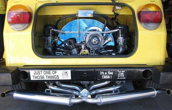 carb kit dual 44 deluxe for type 1 engines (chrome) Gen 4 HPMX
