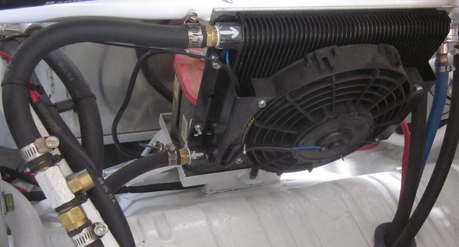 Oil Cooler Amp Fan Kit 96 Plate Cooler W Fan Empi