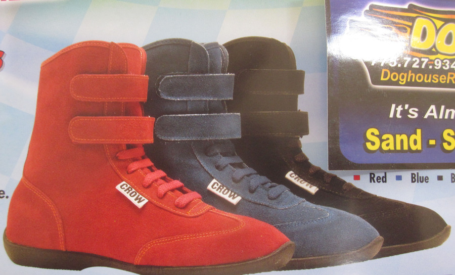 Driving Shoes Blue Suede SFI 3.3/5 Crow