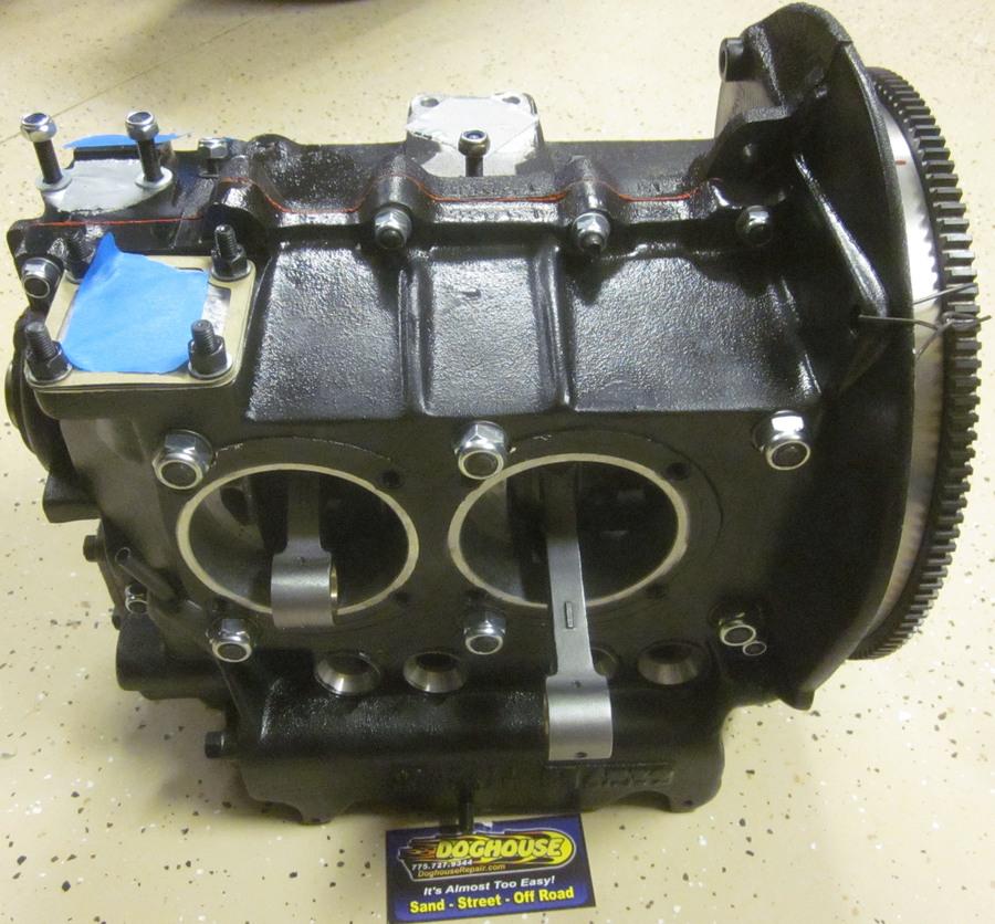 Vw Bug Engine Case Sealant: 1600-1641cc All New Short Block