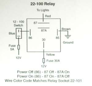 relay 20 / 40 amp relay - a K-Four on