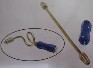 """residual pressure valve 2 psi w/ 7"""" hard line kit - Empi Metric"""
