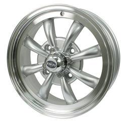 rim close 4 pattern 8 spoke Empi silver & polished alloy 15 x 5.5 GT-8