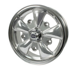 rim wide 5 pattern 5 spoke Empi silver & polished alloy 15 x 5.5 GT-5