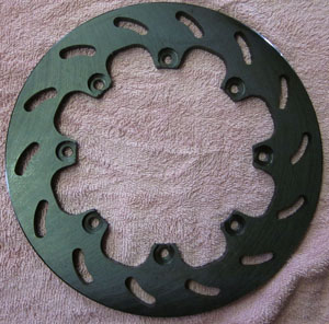 disc brake rotor for Race-Trim Micro Stub kit with 930 joints - Left side Empi