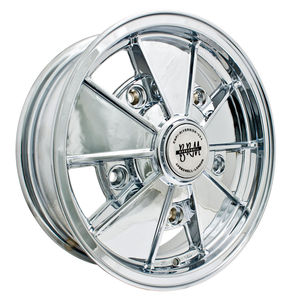 rim wide 5 pattern 5 spoke BRM CHROME alloy 15 x 5  Empi