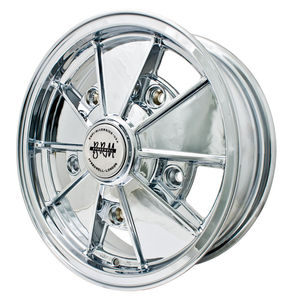 rim wide 5 pattern 5 spoke BRM CHROME alloy 17 x 7  Empi
