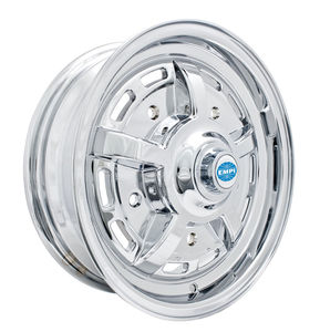 rim wide 5 pattern 5 spoke Sprintstar chrome alloy 15 x 5 Empi