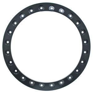 "Beadlock ring 15"" black powder coated ring bare Empi"