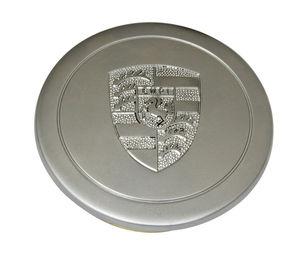 wheel cap replacement cap silver/Stallion Empi crest for 911 Alloy Empi wheels