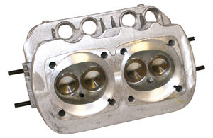"cylinder head dual port 94 ssv, 40 x 35.5, 3/4"" plug, single springs Competition Empi Brazil"