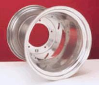 rim wide 5 rear aluminum polished vw 1 piece 15 x 12 DWT
