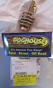 thermostat for air cooled type 1 vw's 64-74