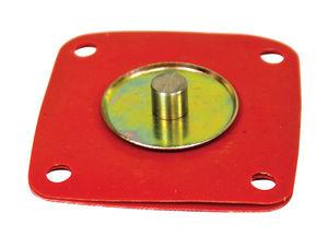 accelerator pump diaphragm small metal pin style HPMX, IDF Empi