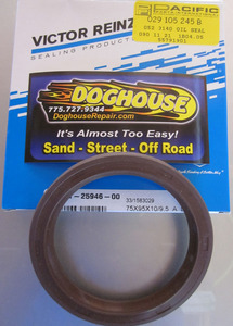 flywheel seal silicone oil seal late bus 1700cc-2000cc 72-79 vanagon 80-83 German PPI