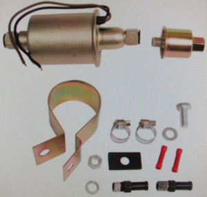 in-line fuel pump not for FI - 5.0-5.5 psi Empi