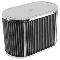 "air filter chrome for 40-44-48 HPMX, IDF & DRLA 5 1/2 x 9 x 6"" tall KING KONG Empi"