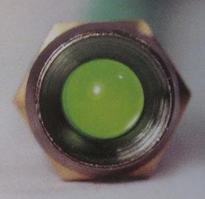indicator warning light GREEN small LED standard K-Four