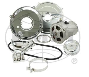 alternator conversion kit  55 amp (gen to alt) bug ghia etc chrome kit China Empi
