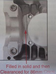 block stroker aluminum case 94 Empi 10 full flow/ shuffle/ ss