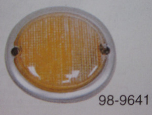 lens for turn signal bus 63-67 right front Empi