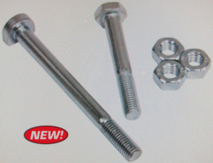 Engine mount hardware kit: nuts & bolts f/ vw type 1 Empi