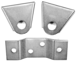 transmission mount set bug solid steel 3 piece 1 front (2 bolt) & 2 rear - Empi