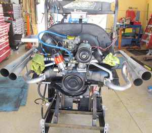 1641cc turnkey engine - rebuilt from rod bearings out