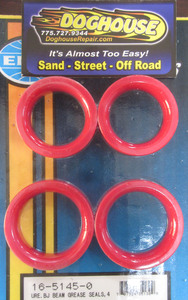 grease seal set front end ball joint red urethane Empi