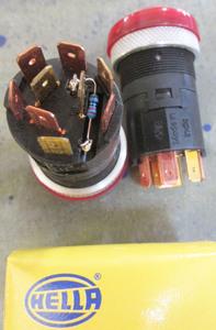 Hazard switch - 4 way flasher for Rewaco faux tank mount