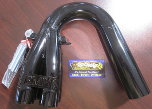 "bend or downswept collector 1 1/2"" pipe painted offroad  Empi"