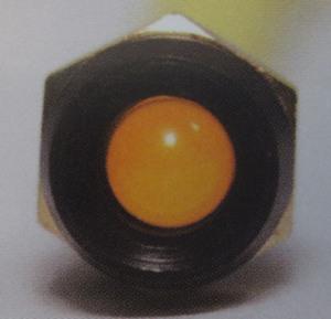 indicator warning light AMBER small LED 12V flashing K-Four