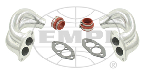 manifold end casting set NEW Dual Port isolated kit type 1 Empi