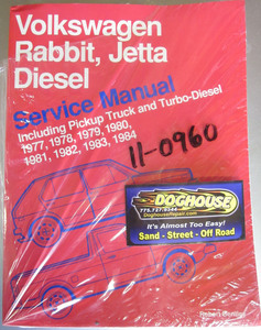 book bentley rabbit, jetta diesel pickup & turbo diesel 77-84