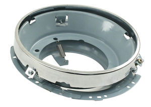 head light housing assembly to hold sealed beam bug, ghia, bus & type 3