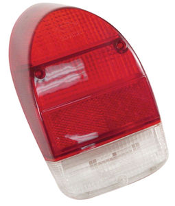 lens for tail light housing Left bug 71-72 Empi