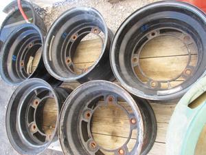 "Wide 5 51 Series rims 15"" x 10"" steel wheels 5 1/2"" backspace"