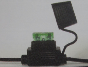 fuse holder inline for ATC fuse - 25/30 amp K-Four