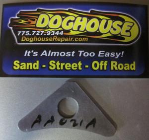 "seat mount tab small triangular has a 1/2"" hole - #7"