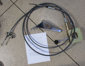 """84"""" cable with nuts Brandwood"""