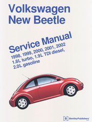 book bentley New Beetle 98-99 2.0 L gas & 1.9L TDI diesel new out of package
