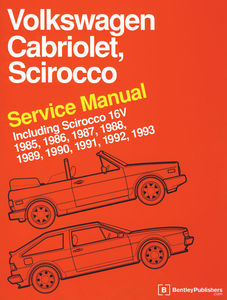 book bentley scirocco, cabrio, 16V 85-93