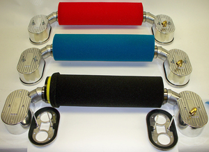 "High Flow Air Filter - 19 1/2"" BLUE fits with Bergmann Porsche kits only"