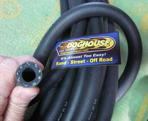 """hose 1/2"""" id high temp/ high press oil line / breather hose - 10' Empi"""