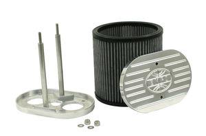 "air filter billet 40-44-48 HPMX, IDF & DRLA BILLET Aluminum 4 1/2 x 7 x 6"" tall Empi"