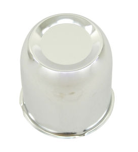 wheel cap replacement cap chrome for use on 4 bolt steel spoke wheels